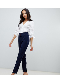 Pantalon slim bleu marine Vero Moda Tall