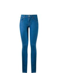 Pantalon slim bleu Amapô