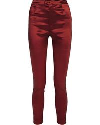 Pantalon slim bordeaux Isabel Marant