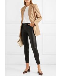 Pantalon slim en cuir noir J Brand