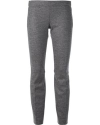 Pantalon slim en laine gris Dsquared2