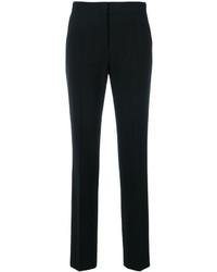 Pantalon slim en laine noir Alberta Ferretti
