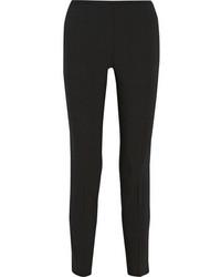 Pantalon slim en laine noir Michael Kors