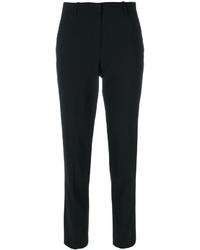 Pantalon slim en laine noir Theory
