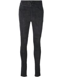 Pantalon slim gris foncé Isabel Marant