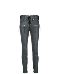 Pantalon slim gris foncé Unravel Project