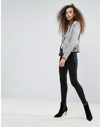 Pantalon slim gris Blank NYC