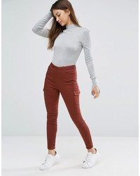 Pantalon slim marron Asos