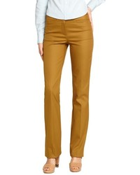 Pantalon slim moutarde