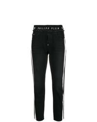 Pantalon slim noir et blanc Philipp Plein