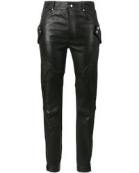 Pantalon slim noir Alexander McQueen