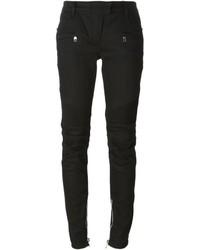 Pantalon slim noir Balmain