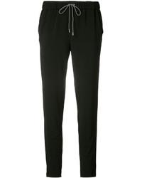 Pantalon slim noir Fabiana Filippi