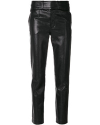Pantalon slim noir Saint Laurent