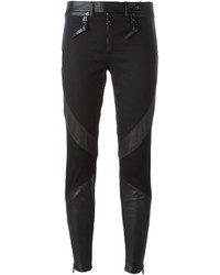 Pantalon slim noir Versace