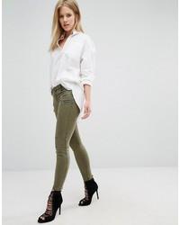 Pantalon slim olive Blank NYC