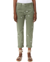 Pantalon slim olive Stella McCartney