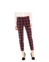 Pantalon slim rouge et bleu marine original 9726418