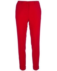 Pantalon slim rouge original 4261277