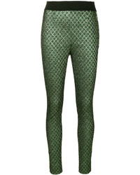 Pantalon slim vert foncé Dolce & Gabbana