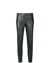 Pantalon slim vert foncé Kiltie