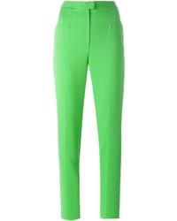 Pantalon slim vert Maison Margiela