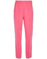 Pantalon style pyjama fuchsia Emilio Pucci
