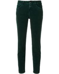 Pantalon vert foncé Closed