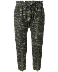 Pantalon vert foncé Current/Elliott