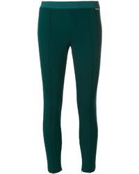 Pantalon vert foncé Twin-Set