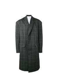 Pardessus à carreaux gris foncé Calvin Klein 205W39nyc
