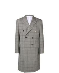 Pardessus à carreaux gris Calvin Klein 205W39nyc