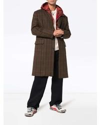 Pardessus à carreaux marron foncé Calvin Klein 205W39nyc