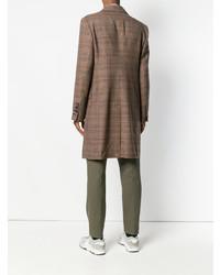 Pardessus à carreaux marron Vivienne Westwood