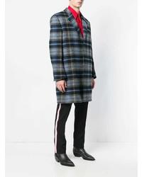 Pardessus écossais gris Calvin Klein 205W39nyc