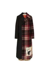 Pardessus écossais multicolore Gucci