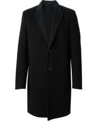 Pardessus noir Calvin Klein