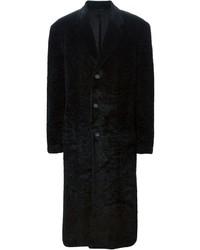 Pardessus noir Versace