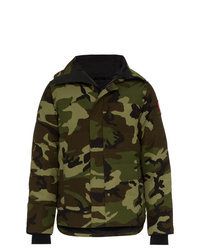 Parka camouflage olive Canada Goose