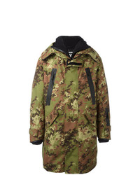 Parka camouflage olive DSQUARED2