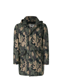 Parka camouflage olive Kired