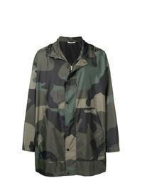 Parka camouflage olive Valentino