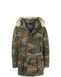 Parka camouflage olive Woolrich