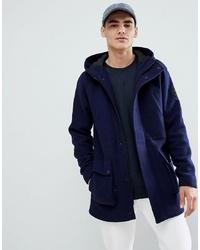 Parka en laine bleu marine ONLY & SONS