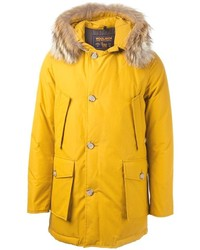 Parka moutarde