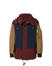 Parka multicolore DSQUARED2