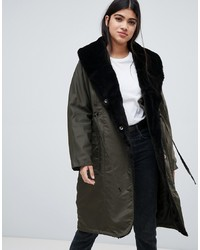 Parka olive Y.a.s
