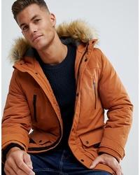 Parka orange Burton Menswear