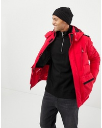 Parka rouge Jack & Jones