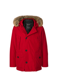 Parka rouge Woolrich